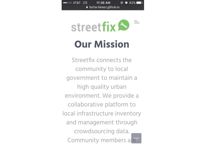 StreetFix – screenshot 1