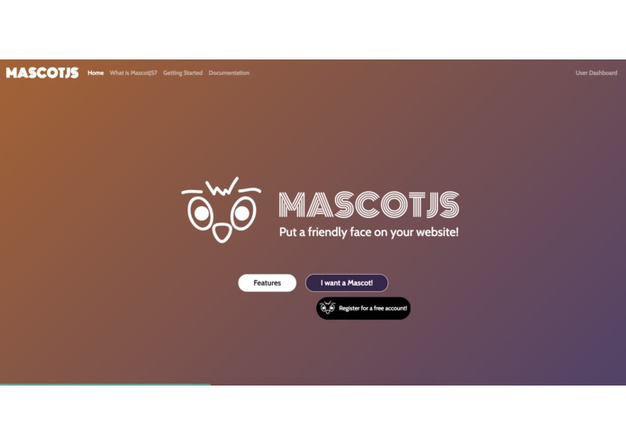 MascotJS - Add Personality to your Boring Website! – screenshot 1