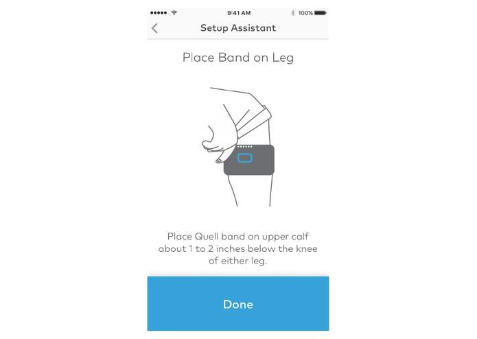 Quell Wearable Pain Relief Technology – screenshot 6