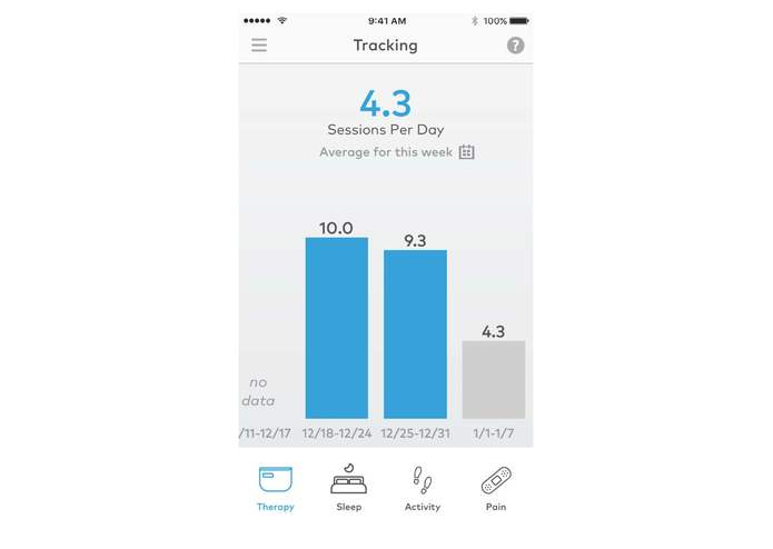 Quell Wearable Pain Relief Technology – screenshot 16