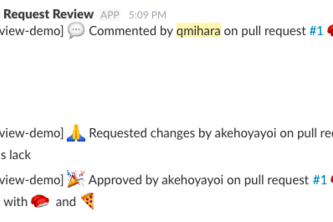 GitHub Pull Request Review Webhook (torimeshi)