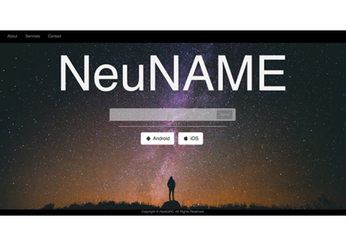 NeuName – screenshot 1