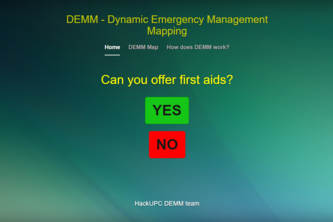 DEMM - Dynamic Emergency Management Mapping