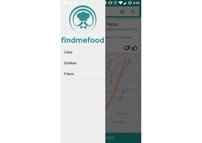 findmefood – screenshot 1