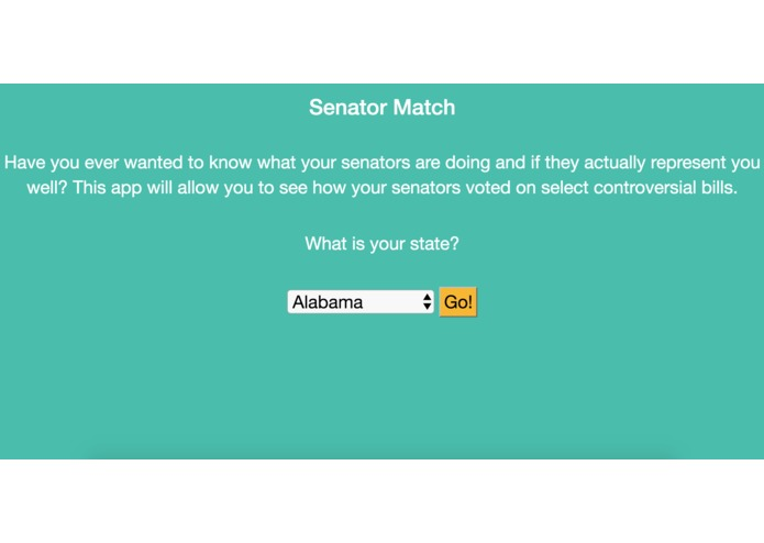 Senator Match – screenshot 1