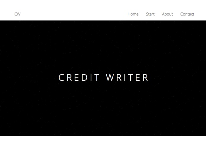 Credit Writer – screenshot 1