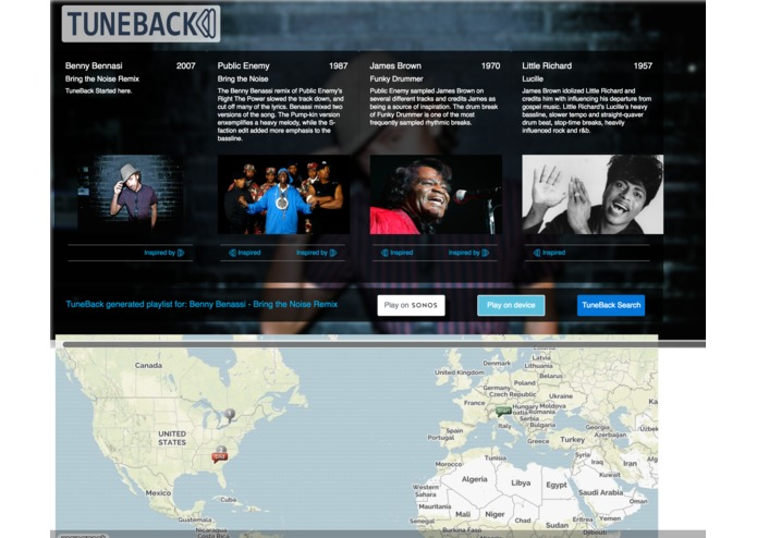 TUNEBACK – screenshot 3