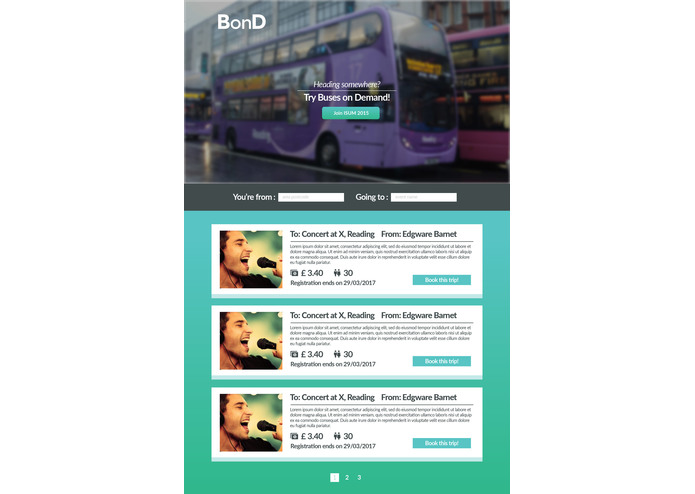 BonD - Bus on Demand – screenshot 1