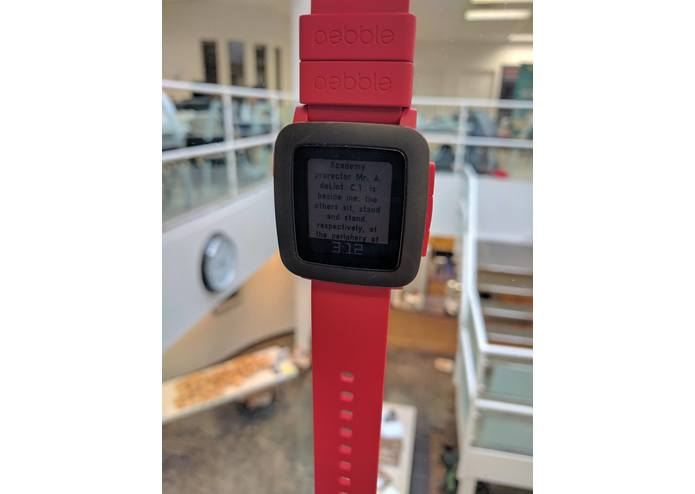 Pebble Prompter – screenshot 1