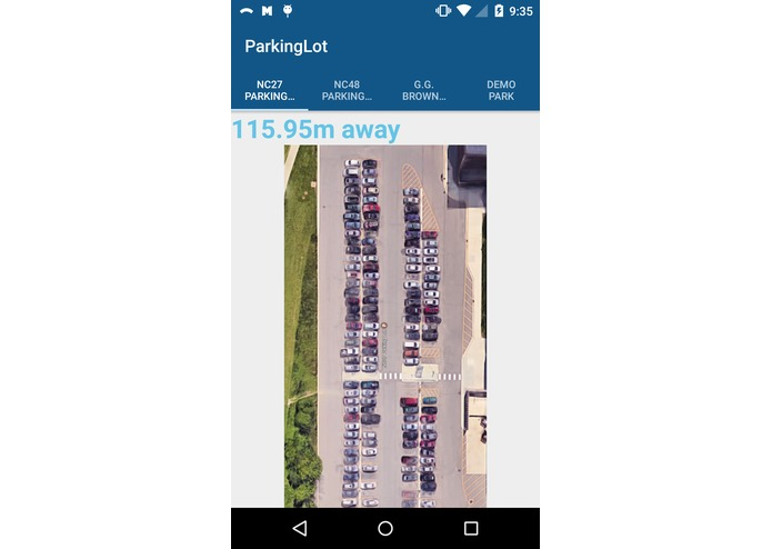 Smart Parking System – screenshot 1