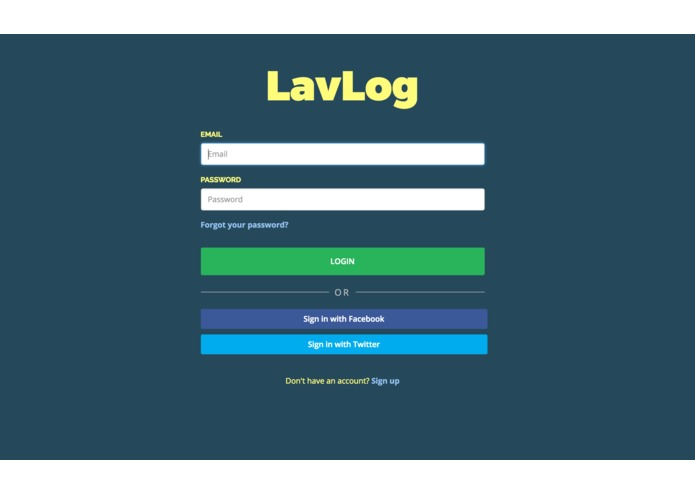 LavLog – screenshot 2