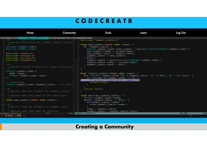 CodeCreatR – screenshot 1