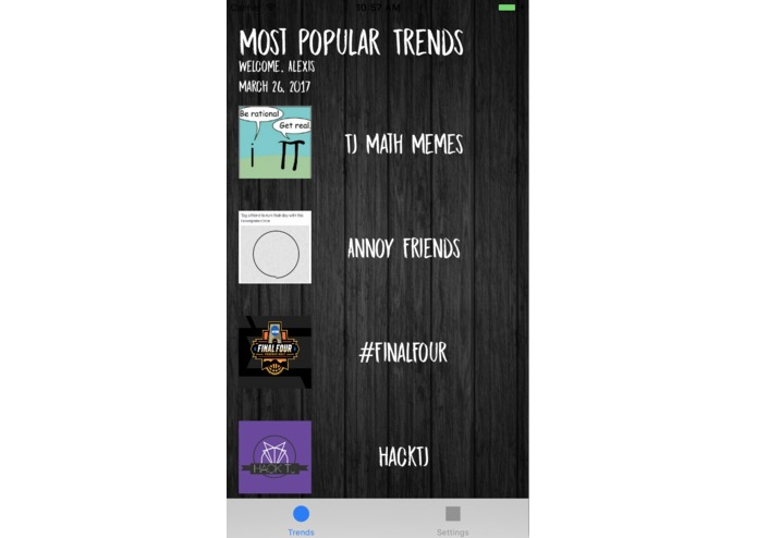 My Daily Trends – screenshot 1