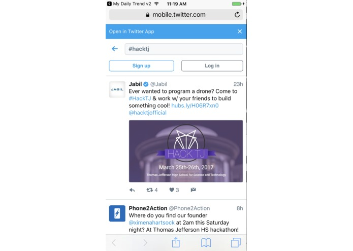 My Daily Trends – screenshot 2