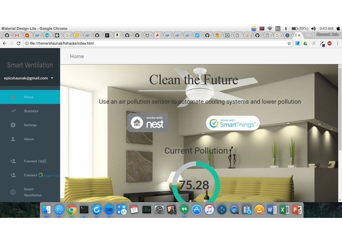 Smart Ventilation – screenshot 1