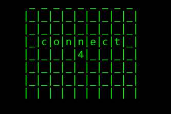 Connect4 AI(ish)