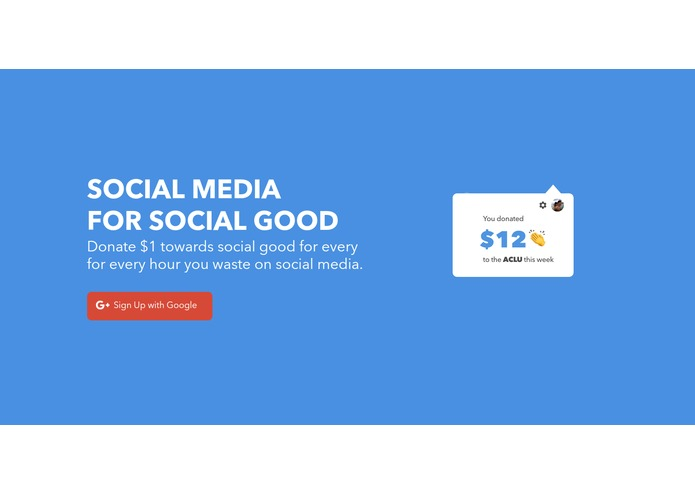 Social Media for Social Good – screenshot 1