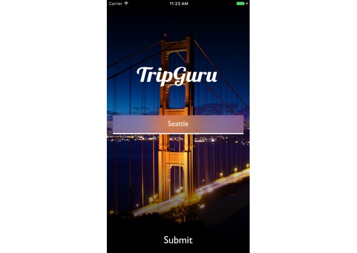 TripGuru – screenshot 1