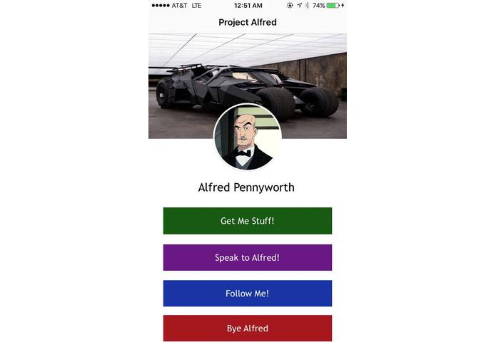 Alfred – screenshot 1