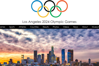 LA 2024 Olympic Games Website