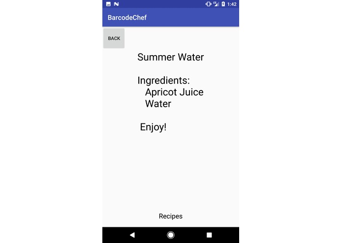 Barcode Chef – screenshot 4