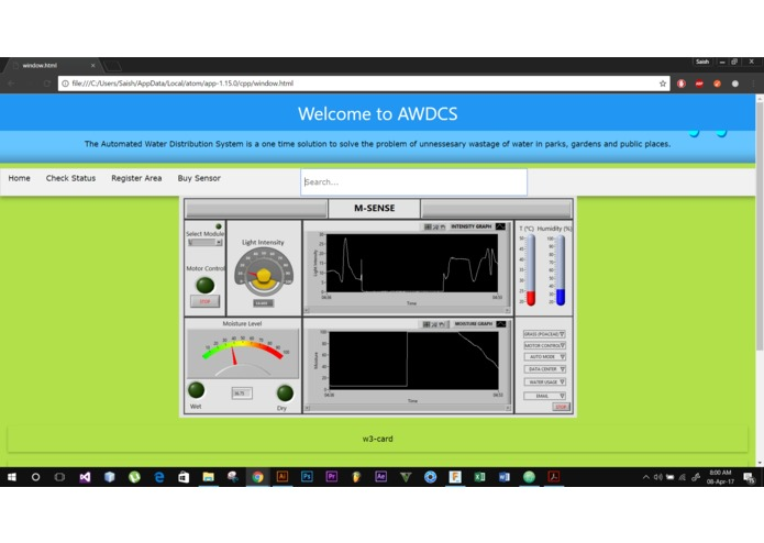 Automated Water Distribution Control System (AWDCS) – screenshot 8