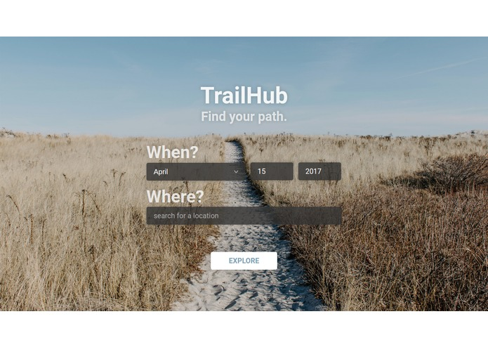 TrailHub - Find Your $PATH, Together – screenshot 2