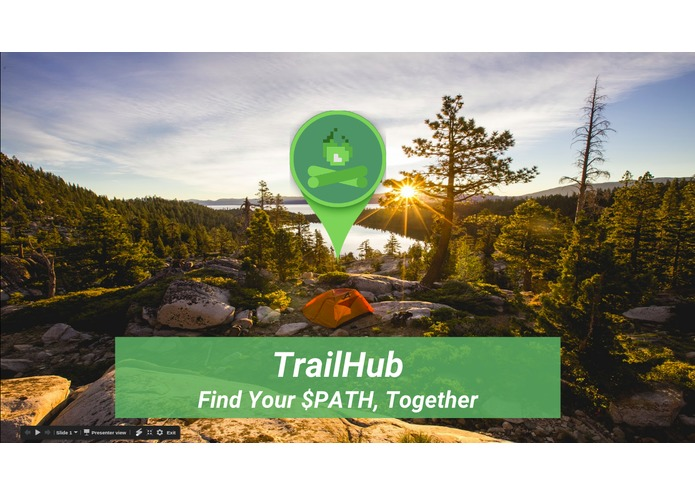 TrailHub - Find Your $PATH, Together – screenshot 1