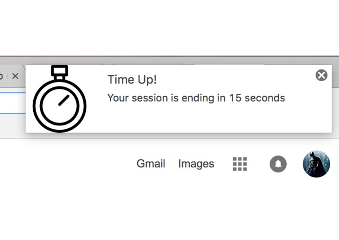 Timer Extension for Google Chrome – screenshot 3