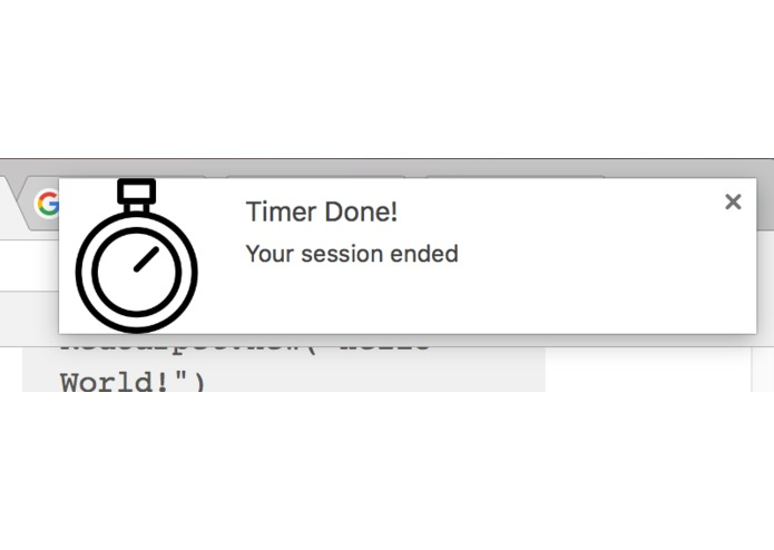 Timer Extension for Google Chrome – screenshot 4