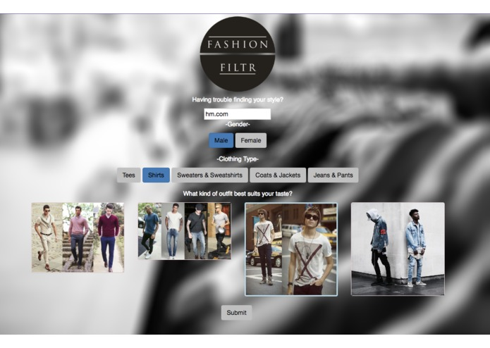 Fashion Filtr – screenshot 1