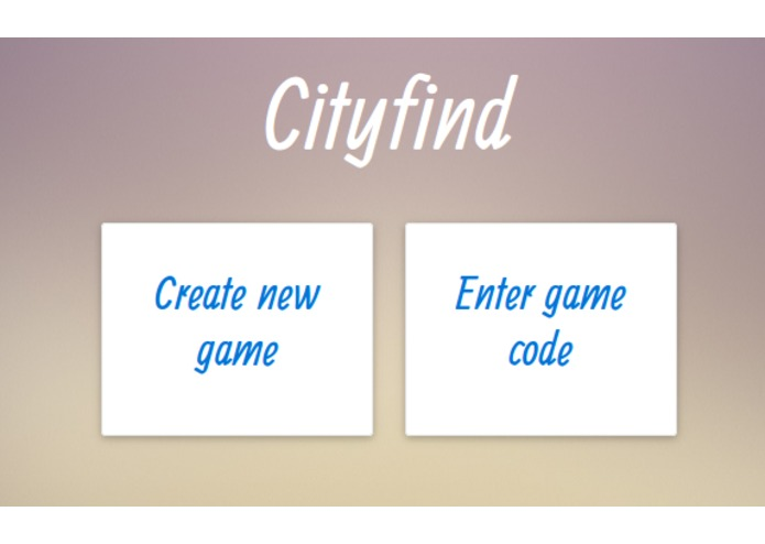 CityFind – screenshot 1