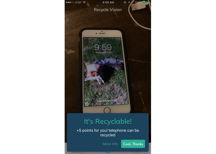 RecycleVision – screenshot 2