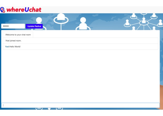 whereUchat – screenshot 2