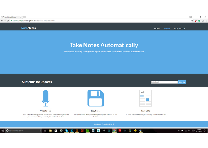 autoNotes – screenshot 4