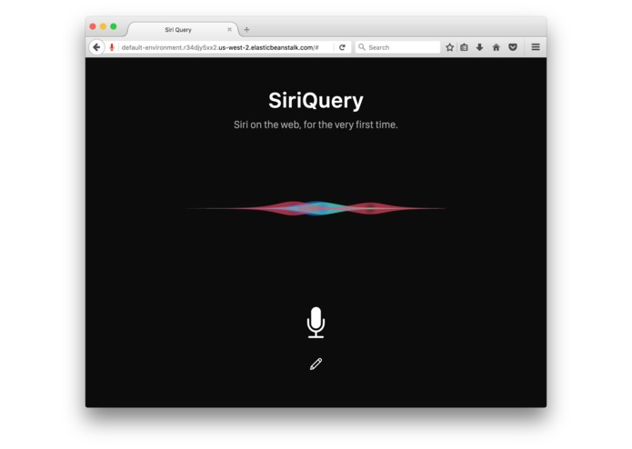 SiriQuery – screenshot 1