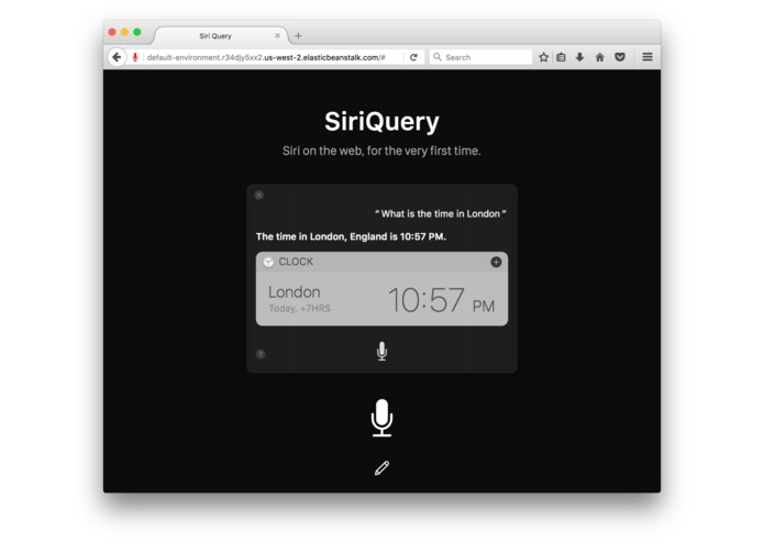 SiriQuery – screenshot 2
