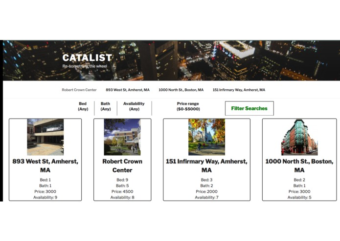 Cata-List – screenshot 1