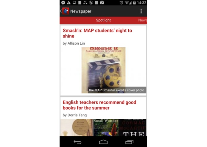 SHS App – screenshot 4