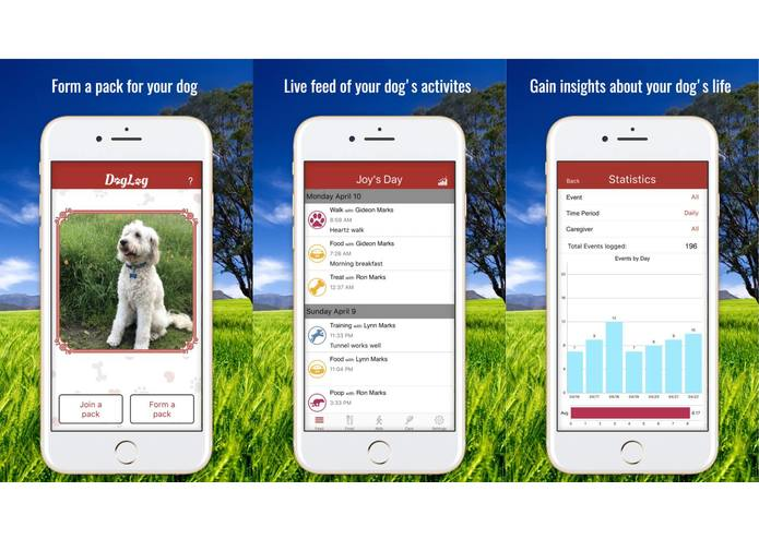 DogLog - Track your dog's activities – screenshot 1