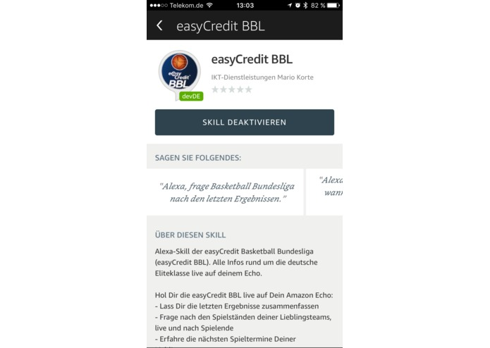 easyCredit BBL – screenshot 1