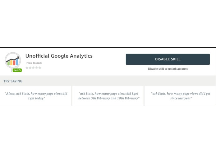 Unofficial Google Analytics – screenshot 2