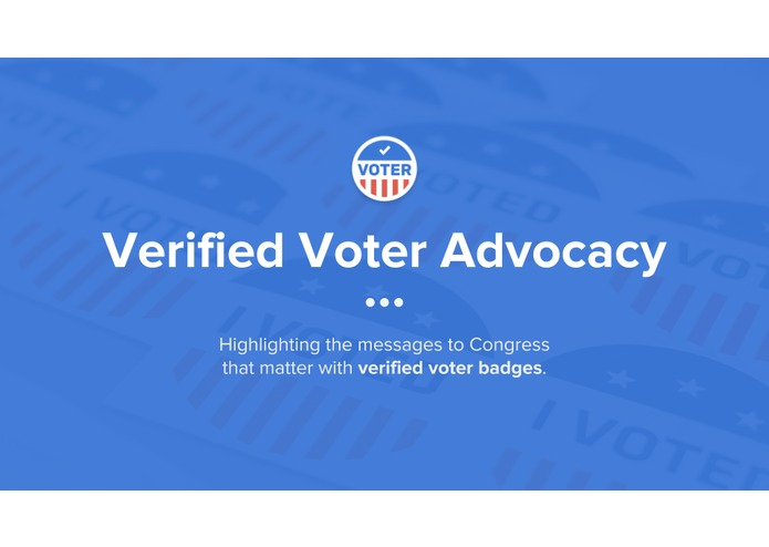 Verified Voter Advocacy – screenshot 1