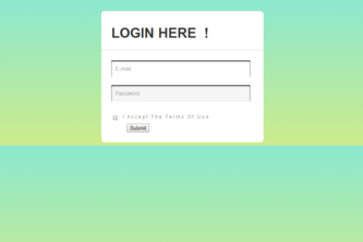 Complete Login Form