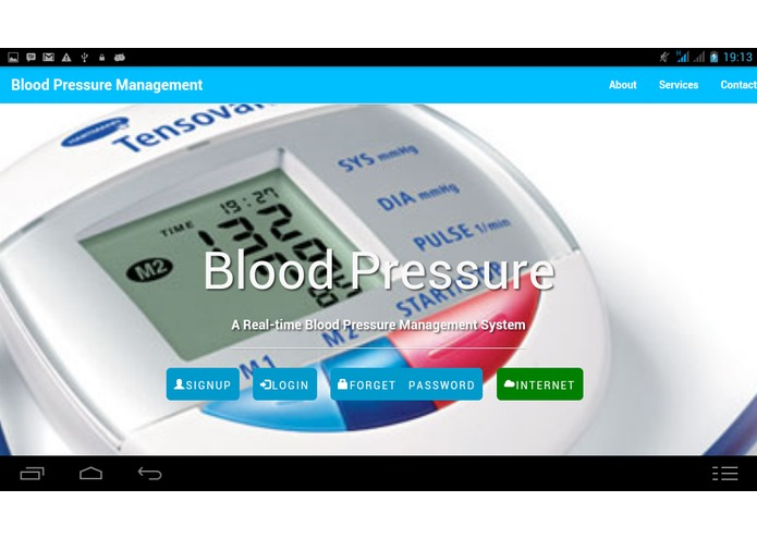 Blood Pressure Monitor – screenshot 2