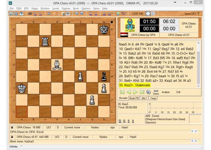 OPA-Chess-Engine – screenshot 7