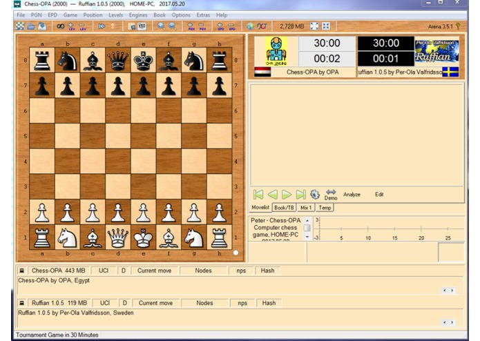 OPA-Chess-Engine – screenshot 9