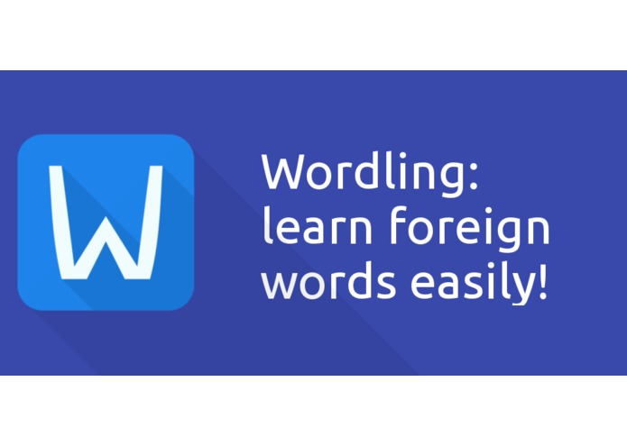 Wordling: Learn foreign words – screenshot 1