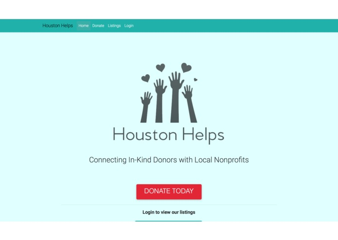 Houston Helps – screenshot 3