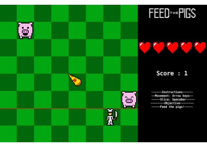 Feed the Pigs – screenshot 1